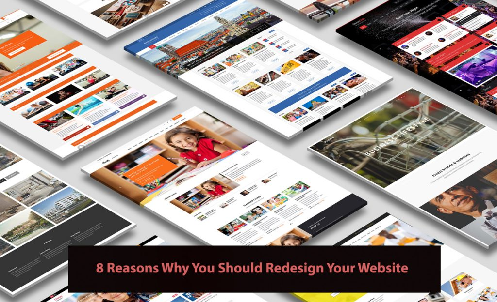 8 Reasons Why You Should Redesign Your Website